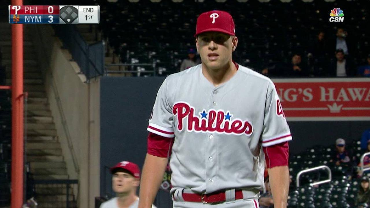 Rain thwarts any attempt of comeback vs. Mets