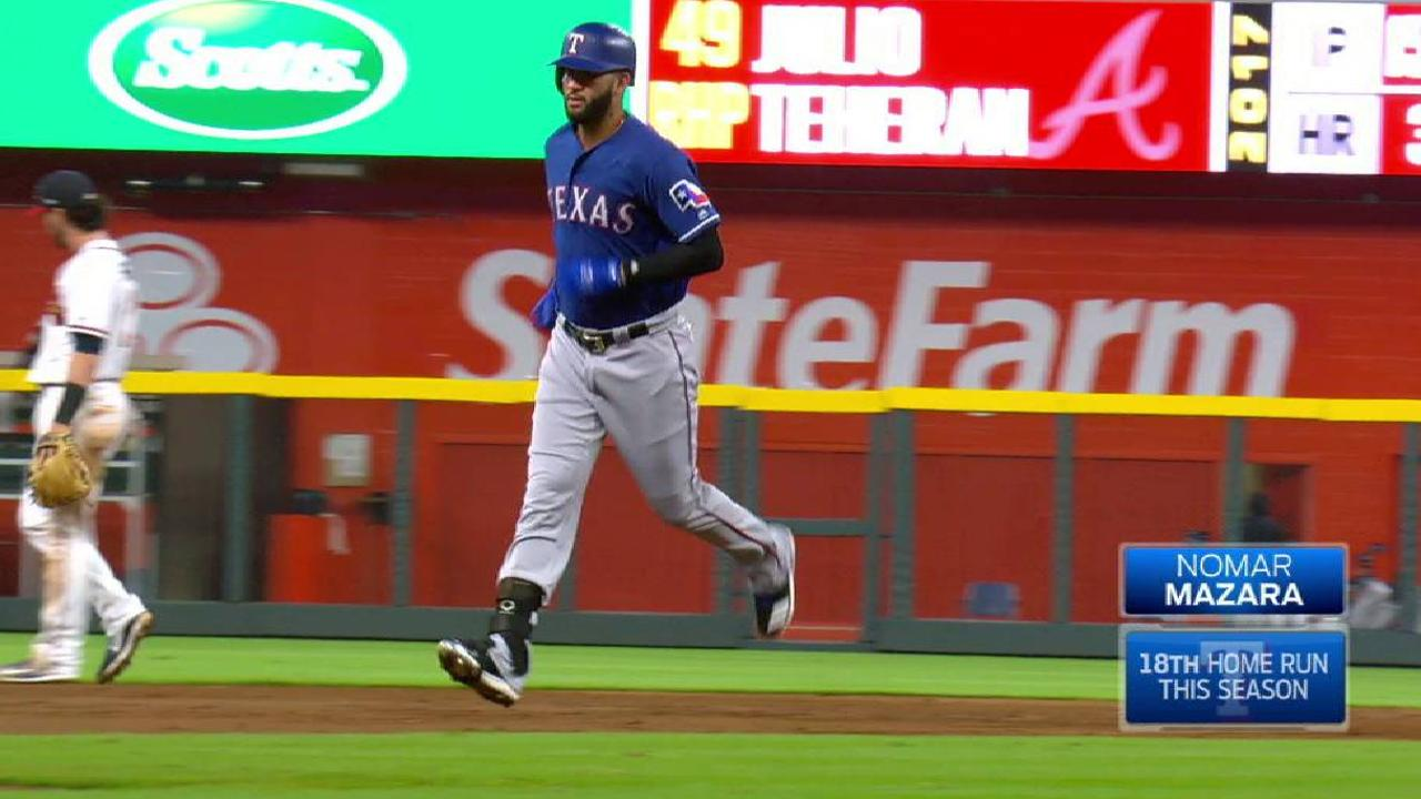 Mazara's towering two-run smash