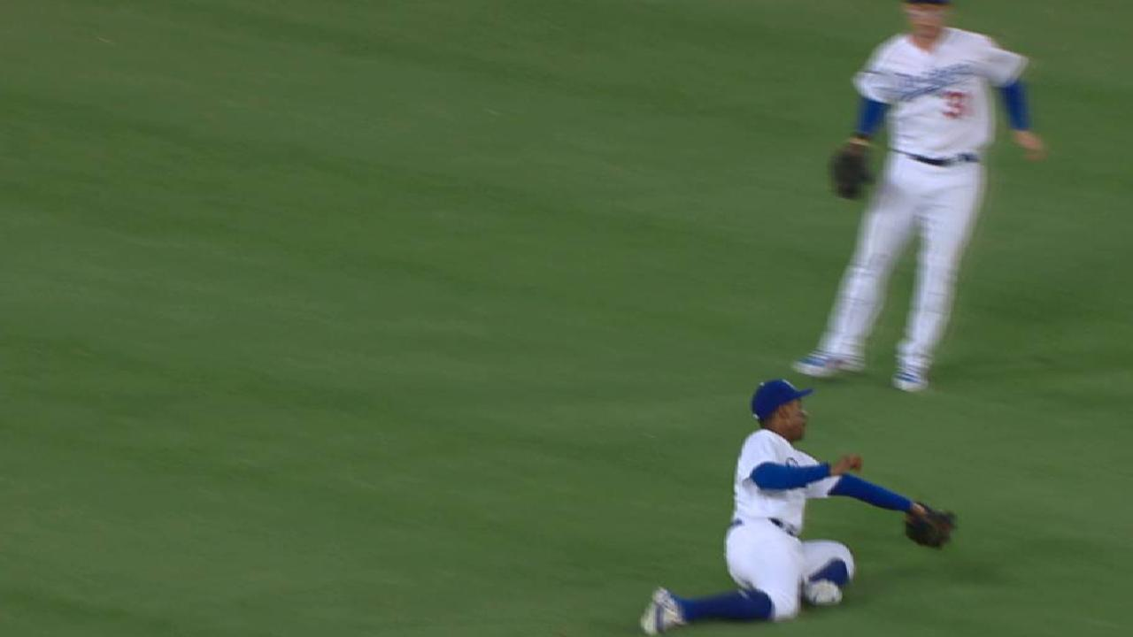 Granderson's diving catch
