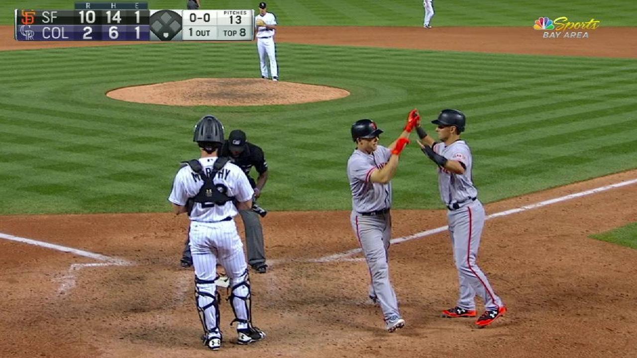 Hundley's mammoth home run