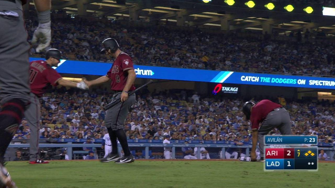 Descalso's bases-loaded HBP