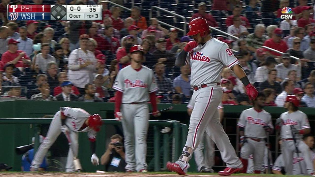 Alfaro's solo home run