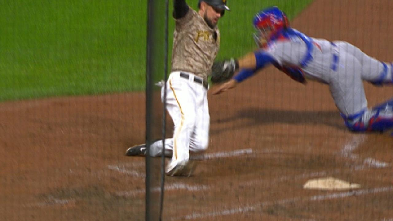 Happ throws out Mercer at home