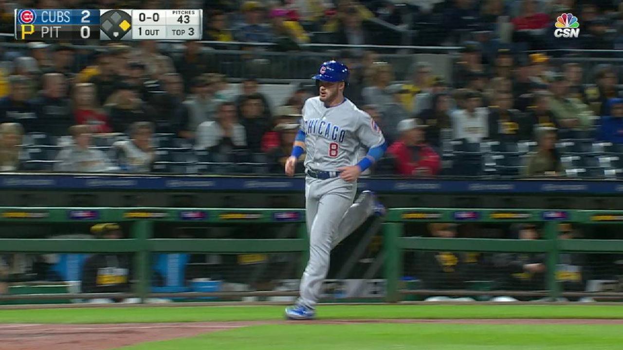 Happ leads way as Cubs break out, pad lead