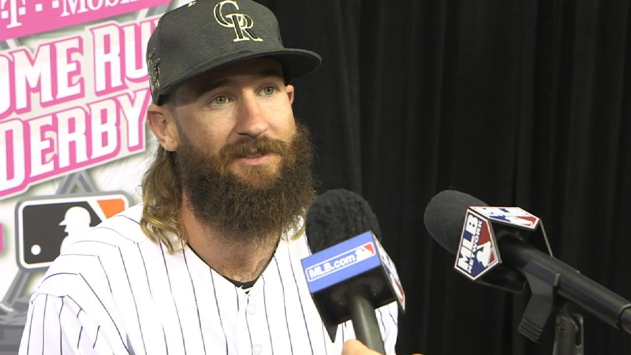 The long and short of Blackmon's beard