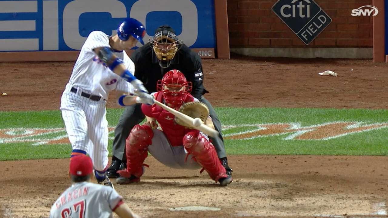 Nimmo drills two home runs