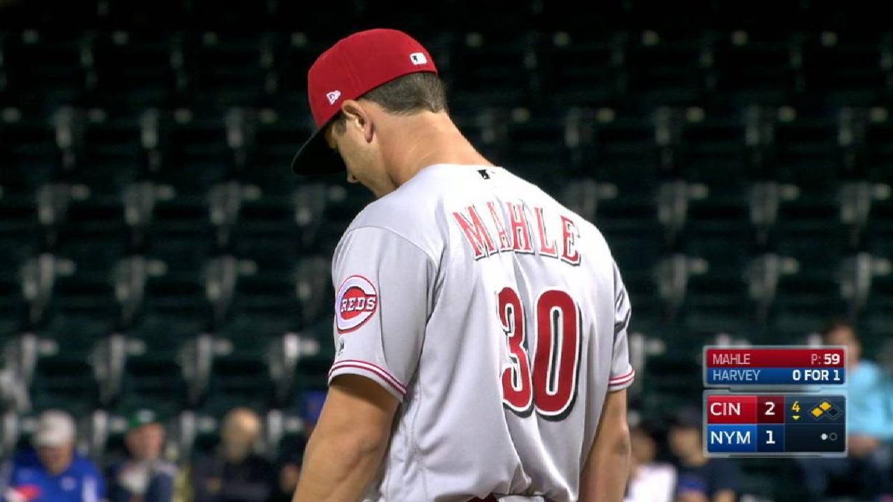 Mahle strikes out Reynolds