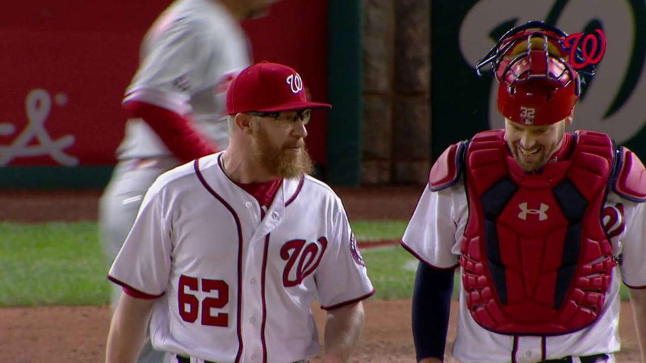 Nats rally to beat Phils, trim magic number