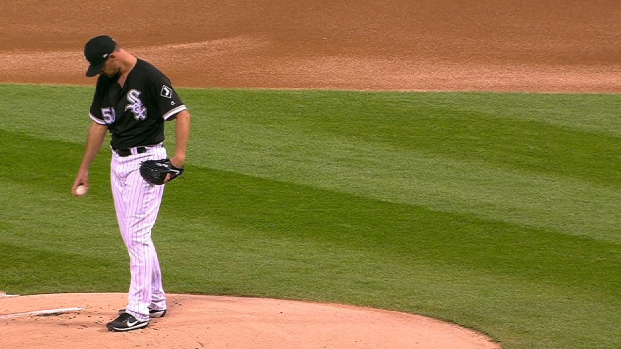 Pelfrey steps in after Rodon scratched late