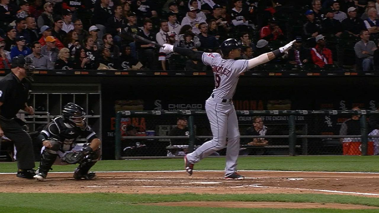 Gonzalez's two-homer game