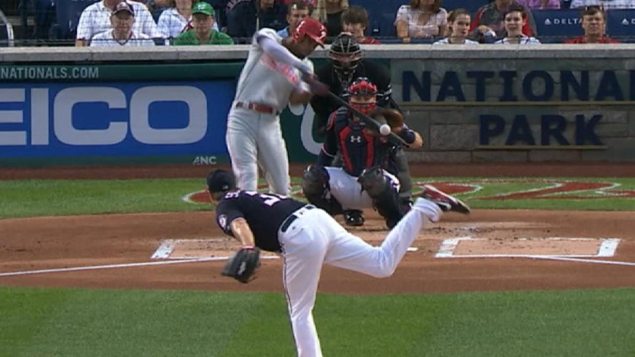 Williams' three-run home run