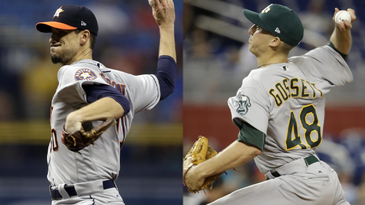 Morton, Peacock lead Astros in twin bill vs. A's