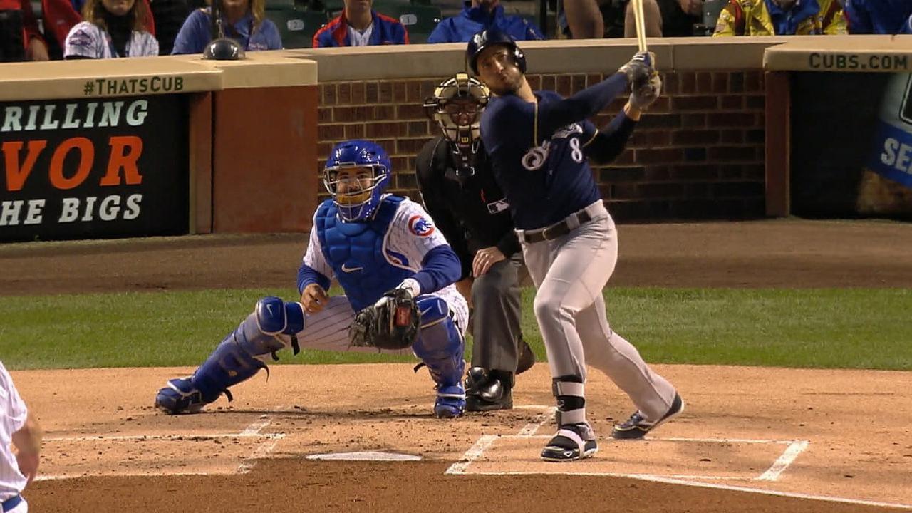 Braun pega cuadrangular 300 en victoria de Cerveceros vs. Cubs