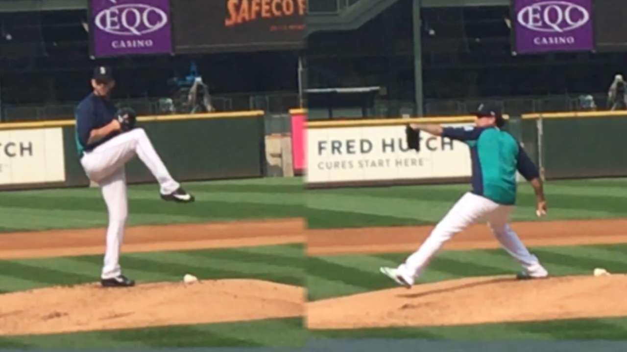 Felix, Paxton to return as Mariners set rotation