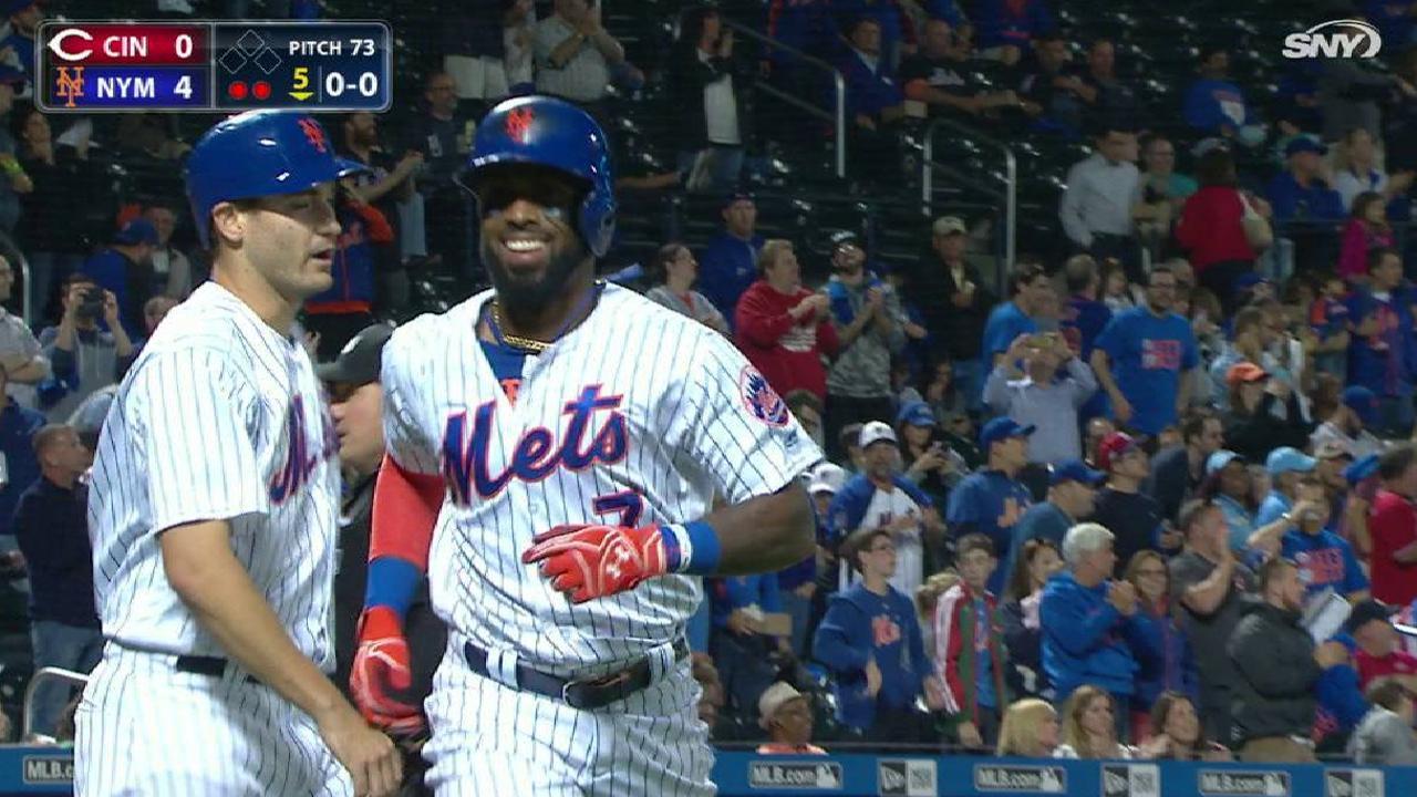 Reyes' second homer