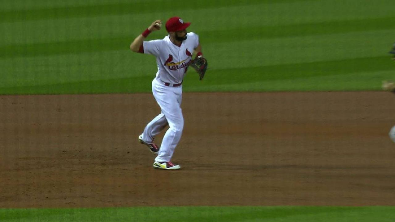 Weaver induces a double play