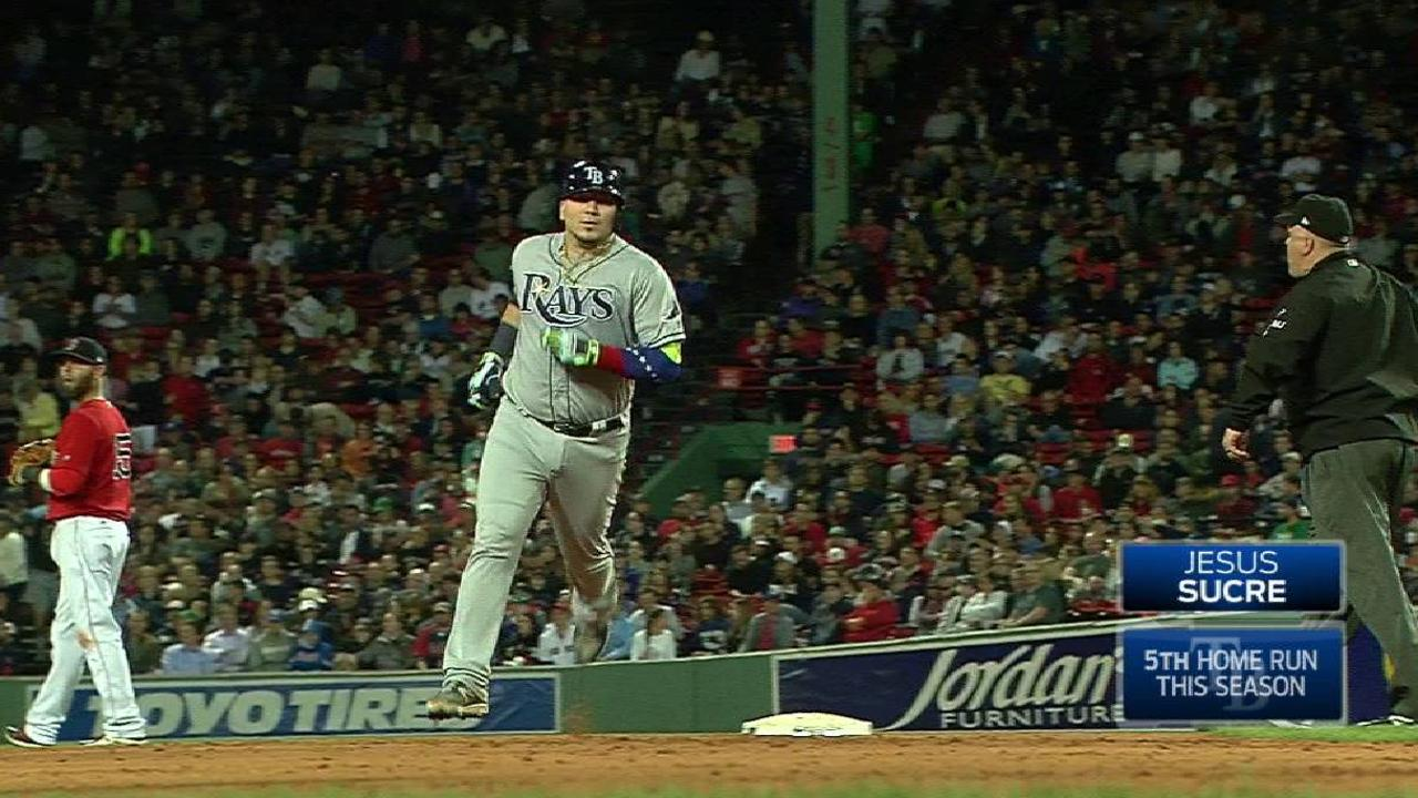 Sucre's two-run jack