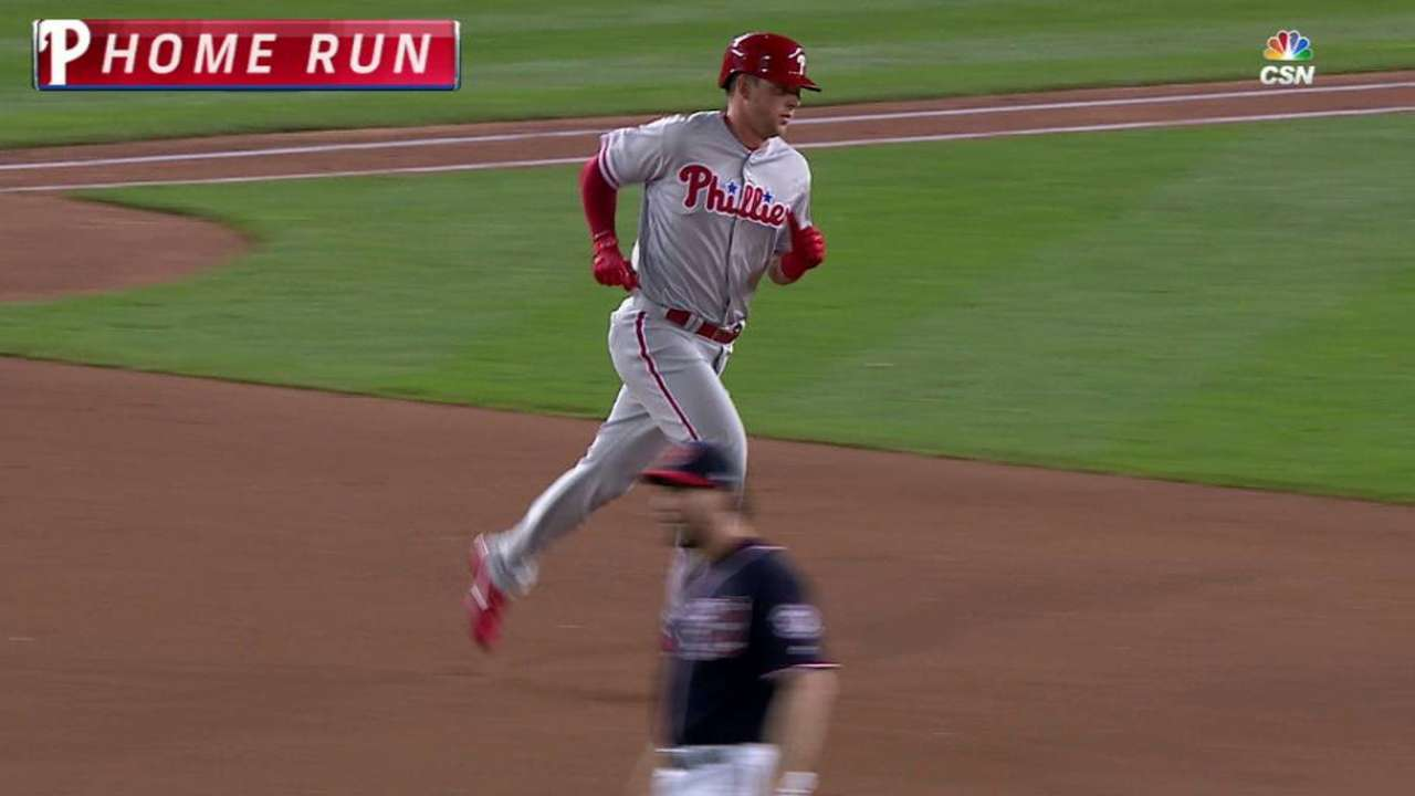 Hoskins to see more playing time at first base
