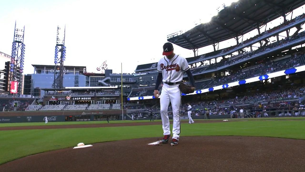 Folty's self-correction a bright spot for Braves