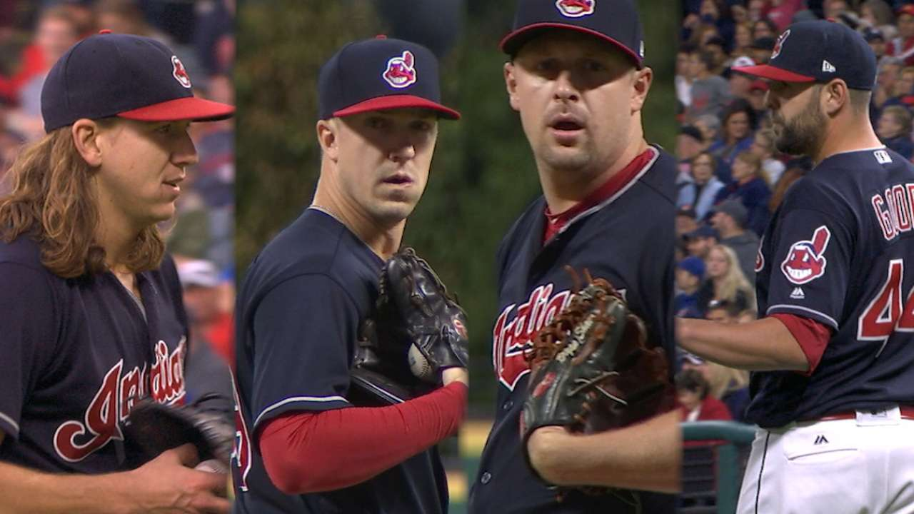 Indians shut out the O's