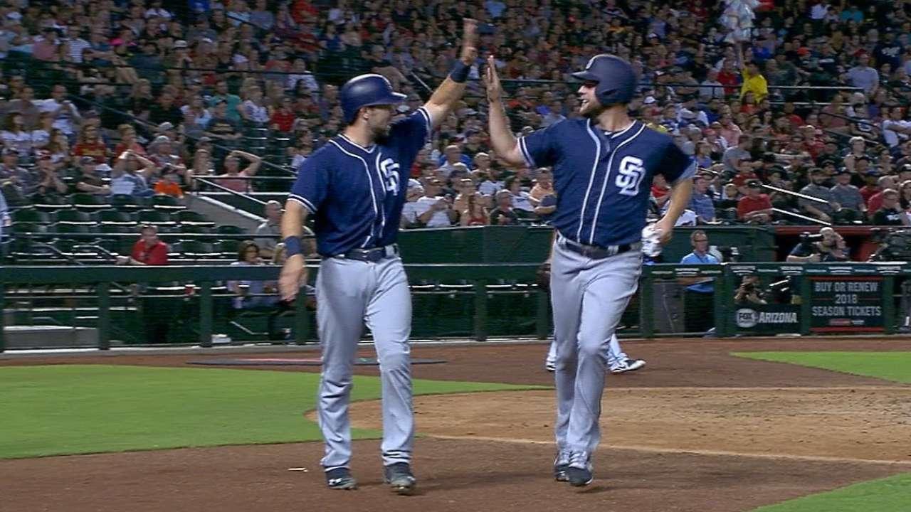 Padres' six-run 4th inning