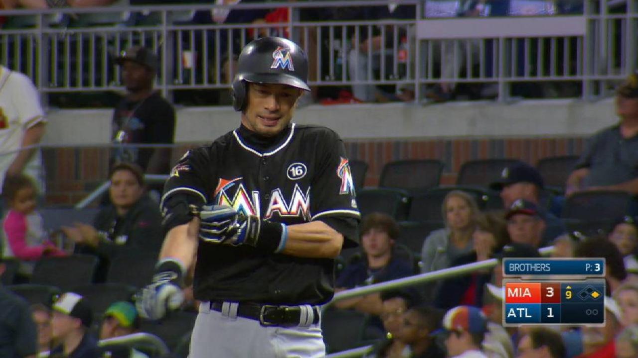 Ichiro's 2500th career single