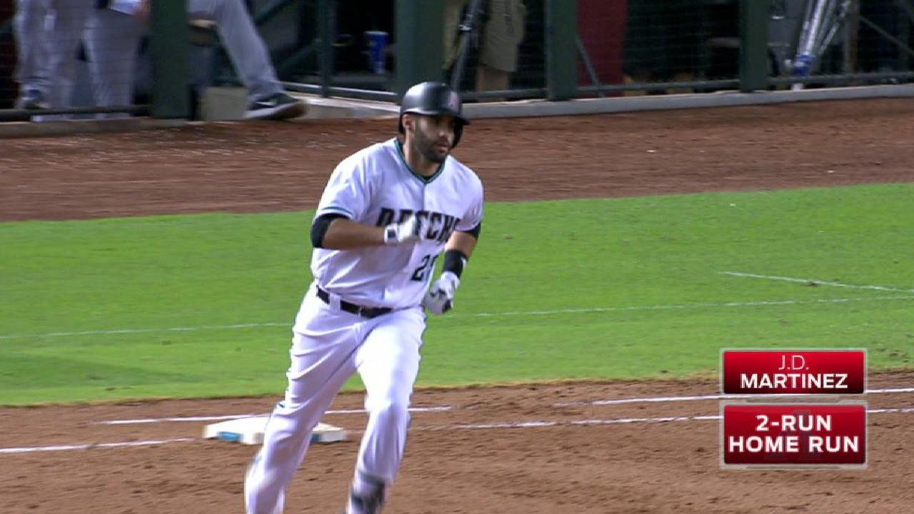 Martinez's two-run home run
