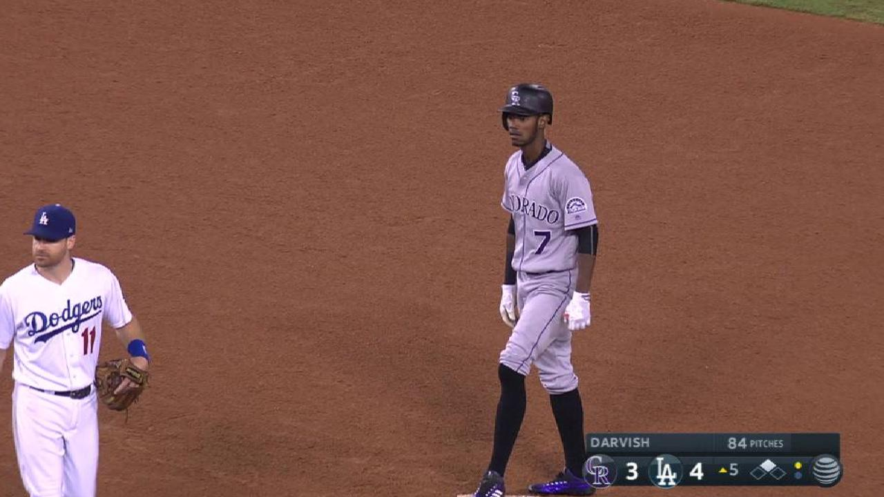Tapia making most of bench role