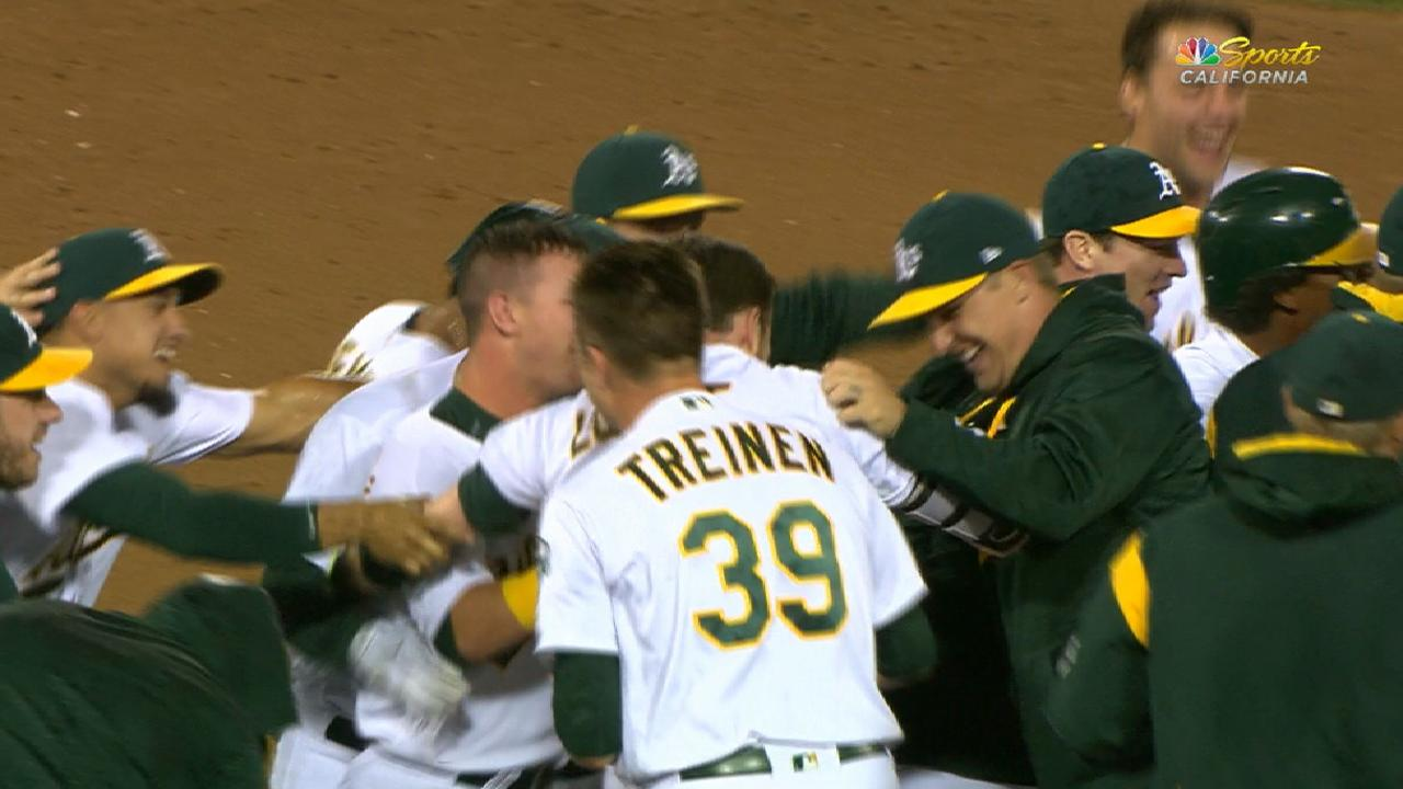 Must C: A's come back in 9th