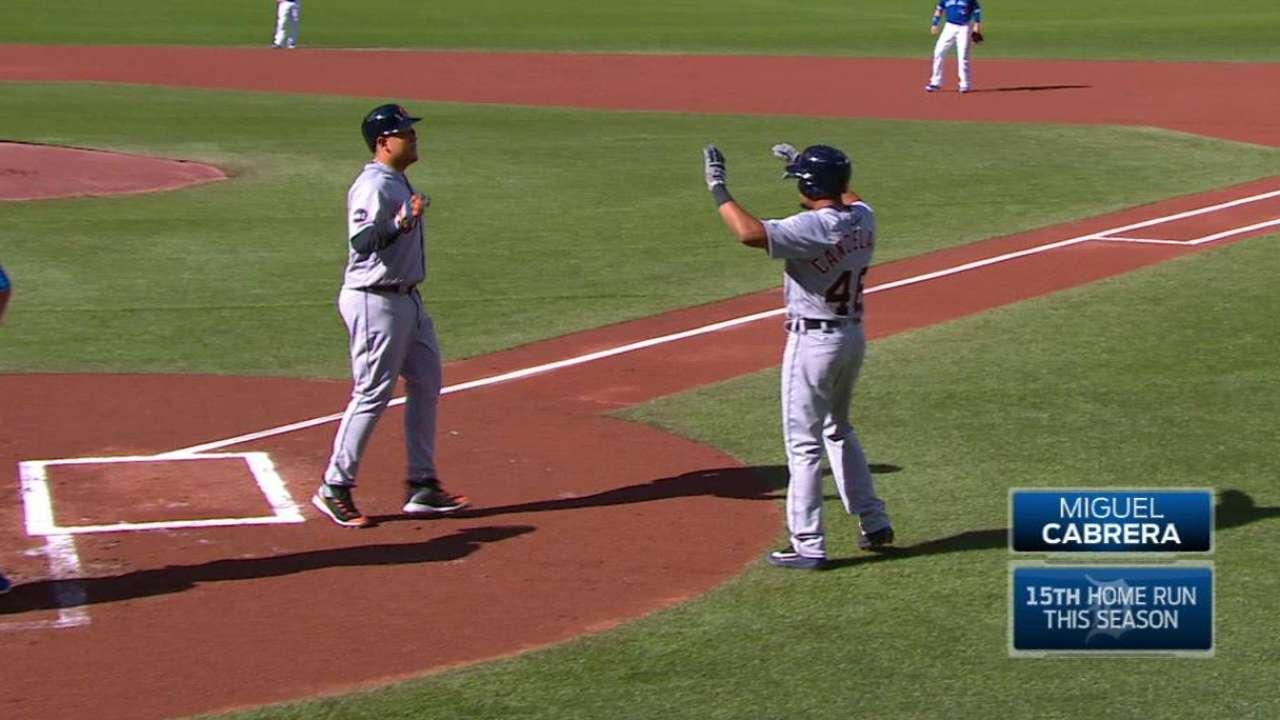Miggy's two-run home run
