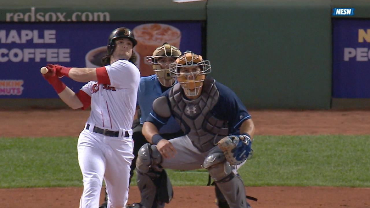 Red Sox's five-run 2nd inning