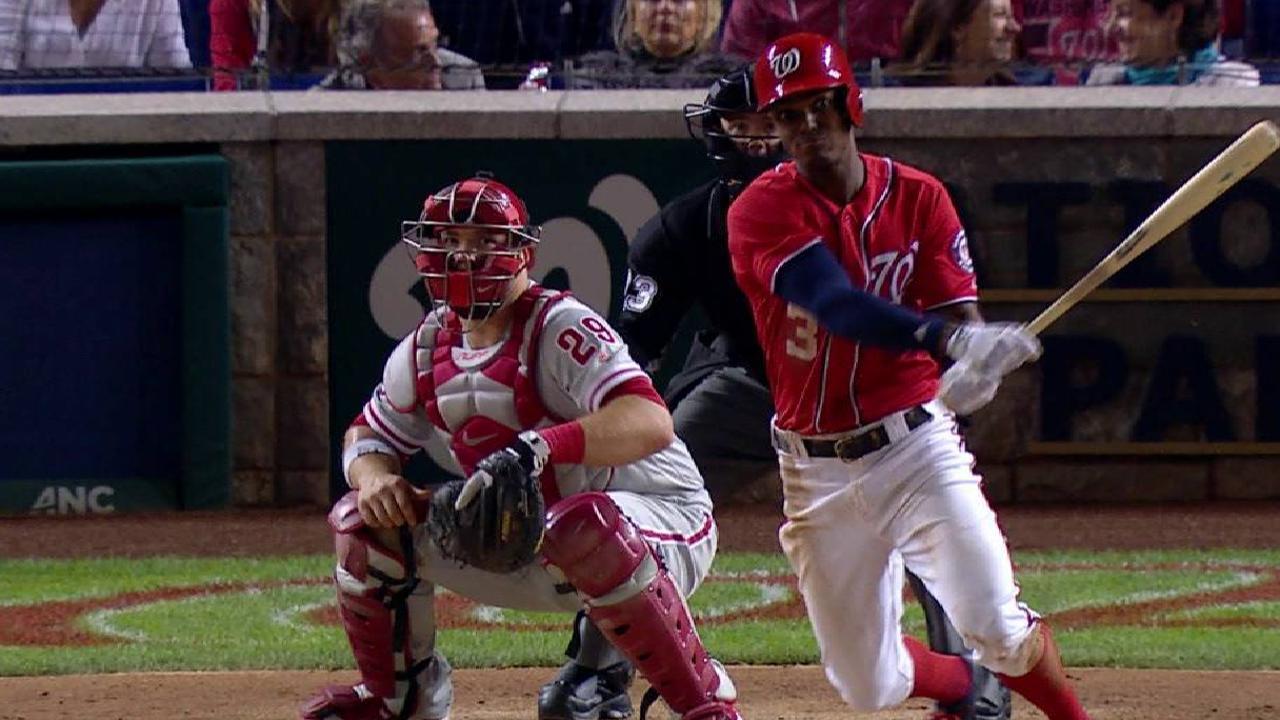 Taylor's two-run home run