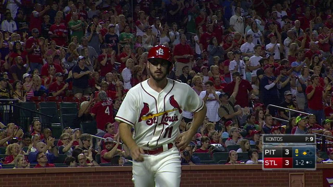 Grichuk's RBI groundout for lead