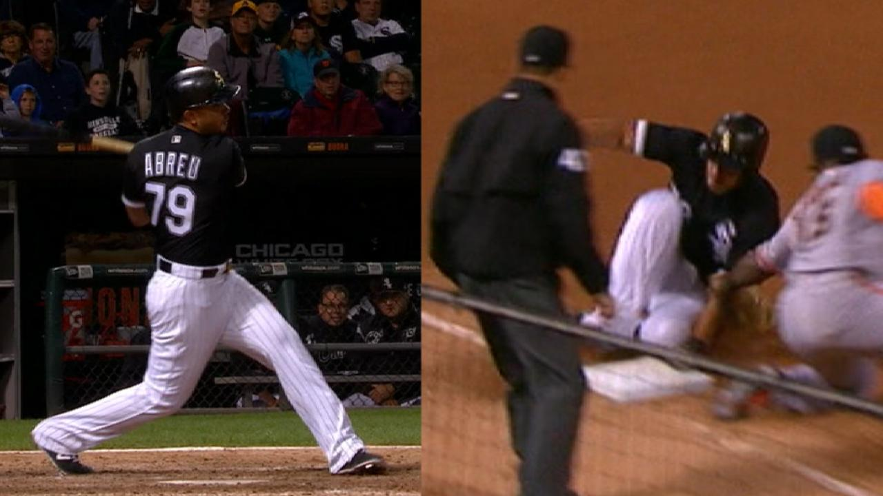 Abreu finishes off the cycle