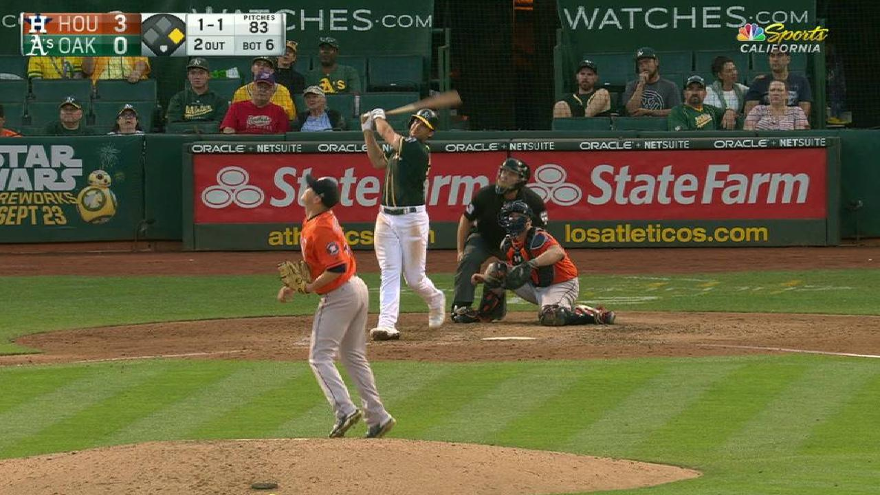 Olson's two-run moonshot