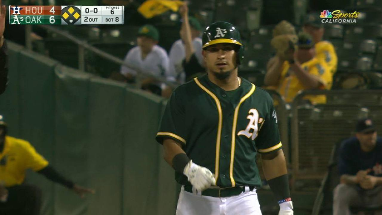 Barreto's RBI single