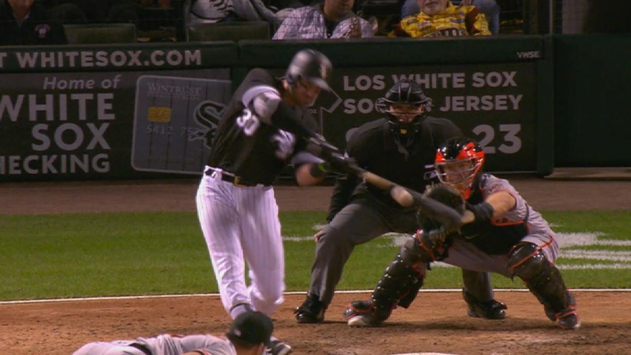 White Sox bash 6 HRs, Shields deals vs. Giants