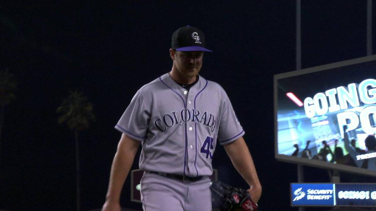 Oberg escapes a jam in the 6th
