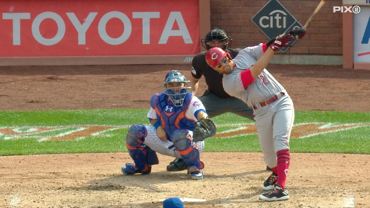 Cozart's game-tying home run