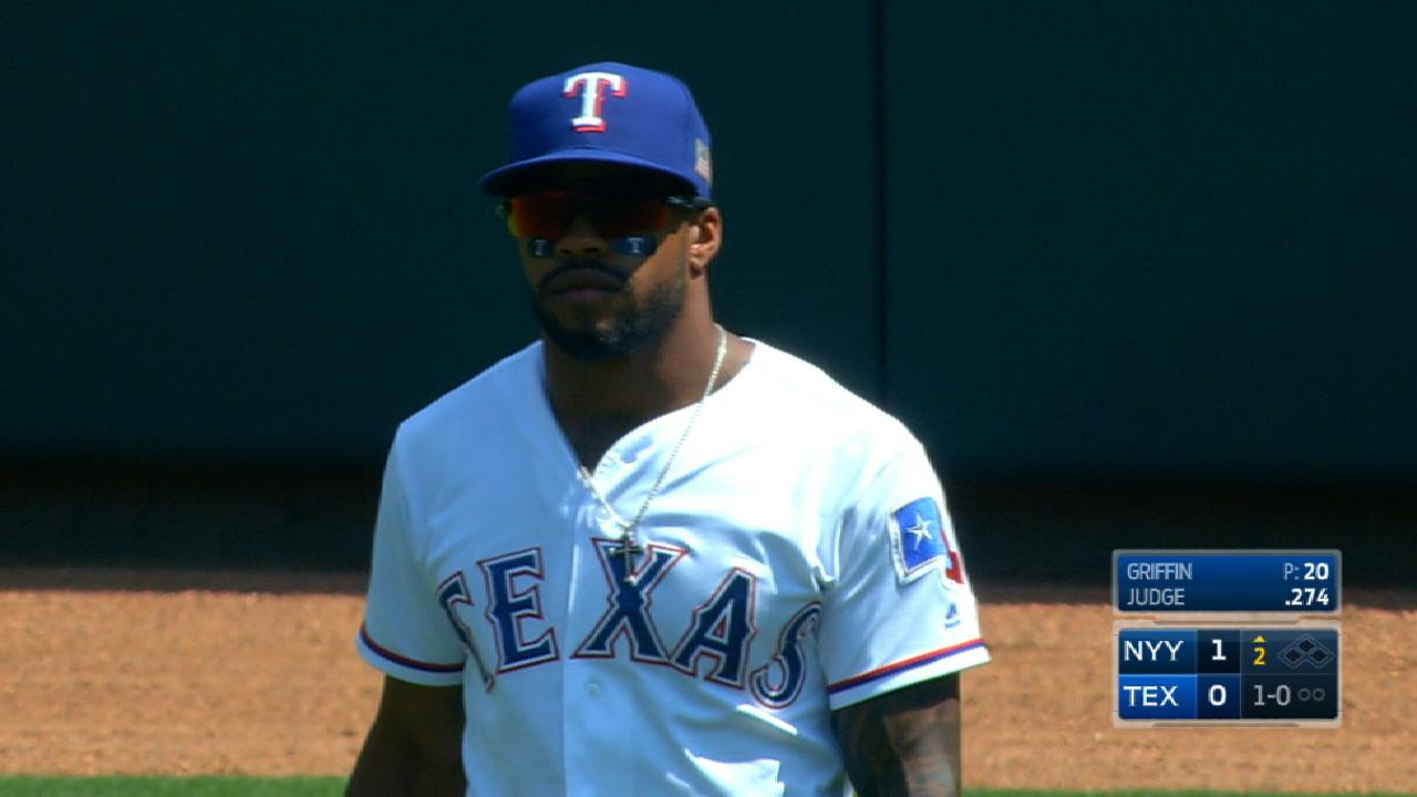 With Gomez out, DeShields shifts to center