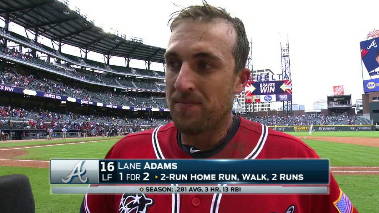 L. Adams goes from no invite to walk-off hero