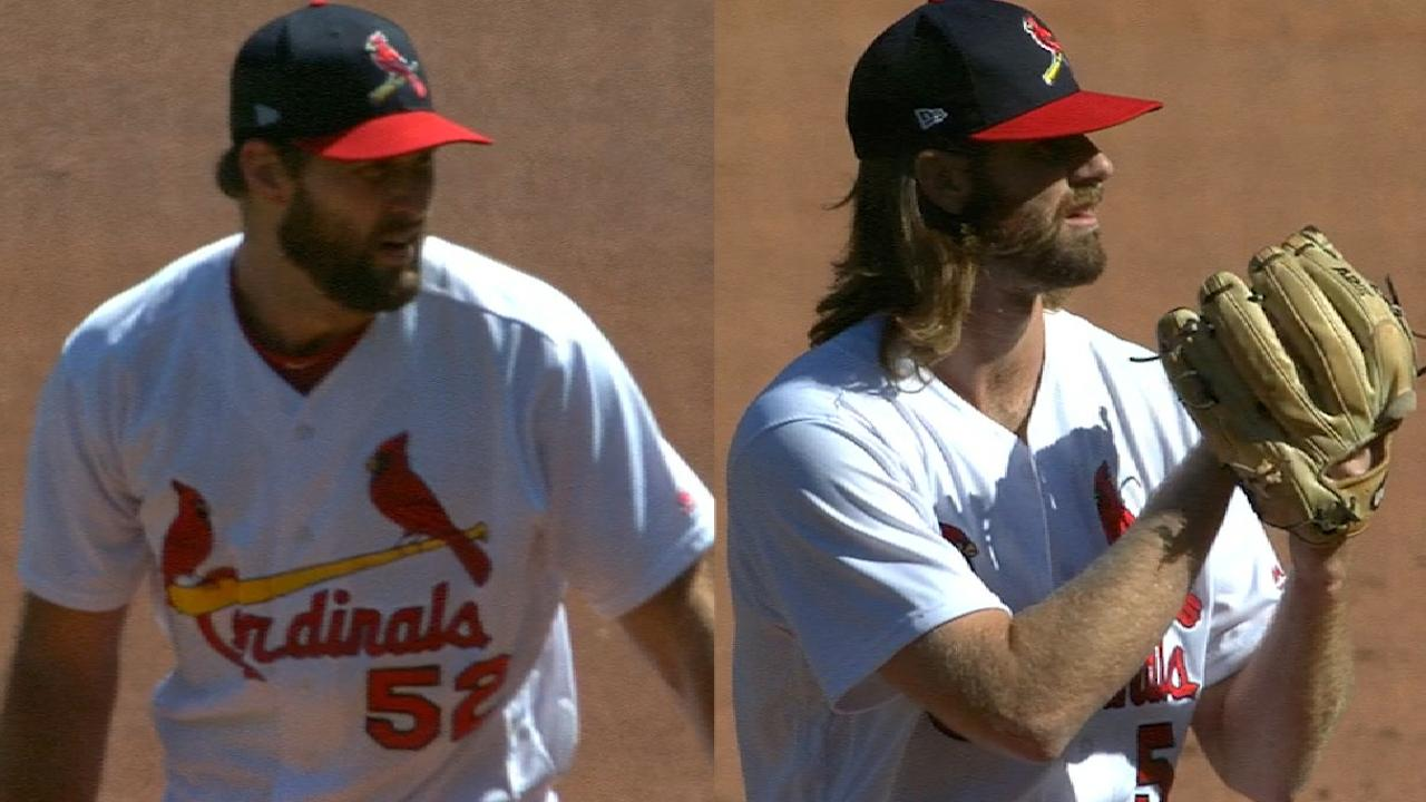 Wacha impresses to lead Cards' shutout win