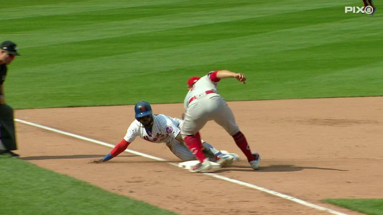 Reyes' 508th stolen base