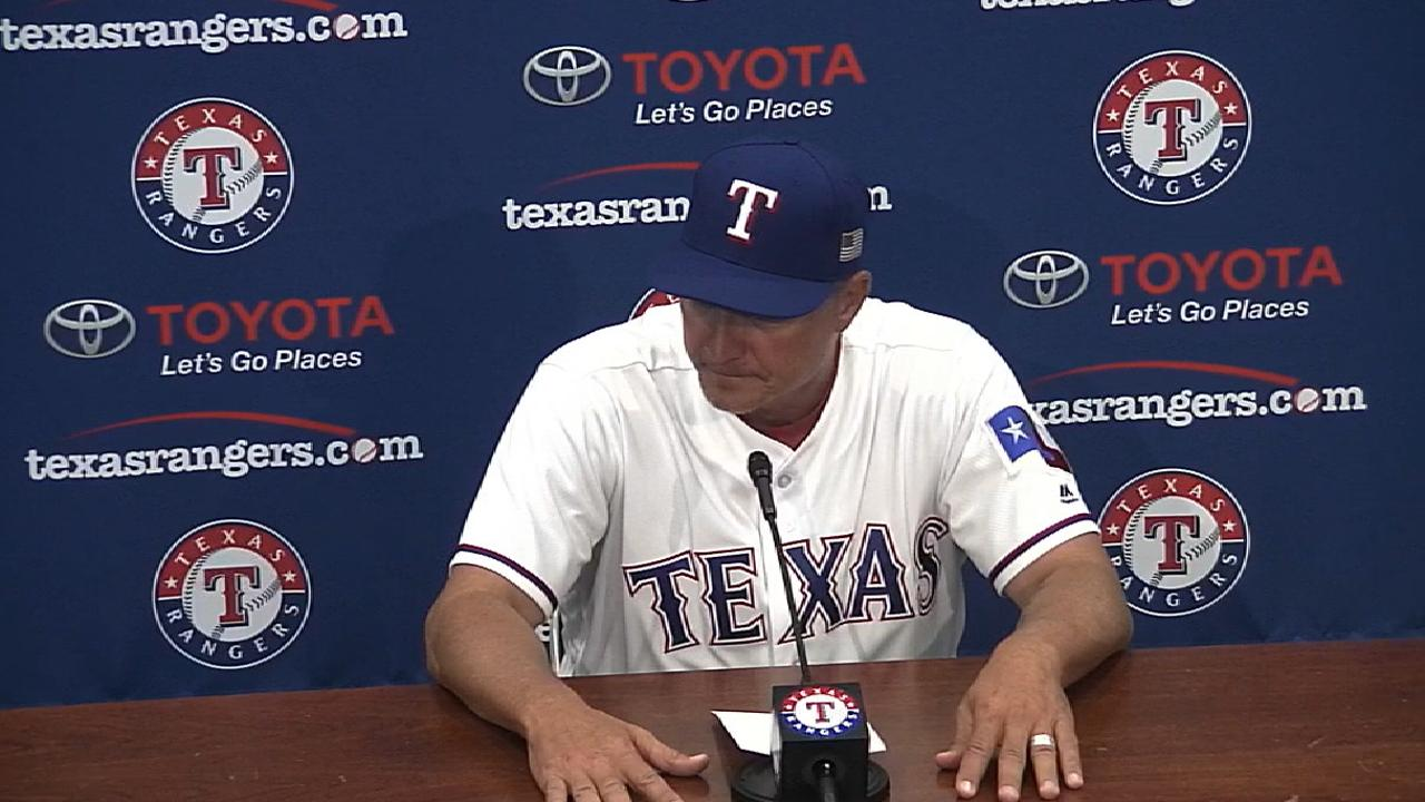 Banister on allowing 16 runs