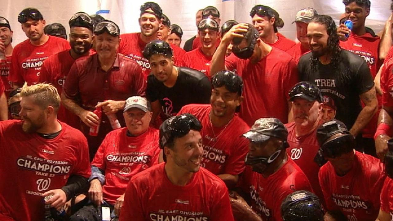 Nats on clinching NL East