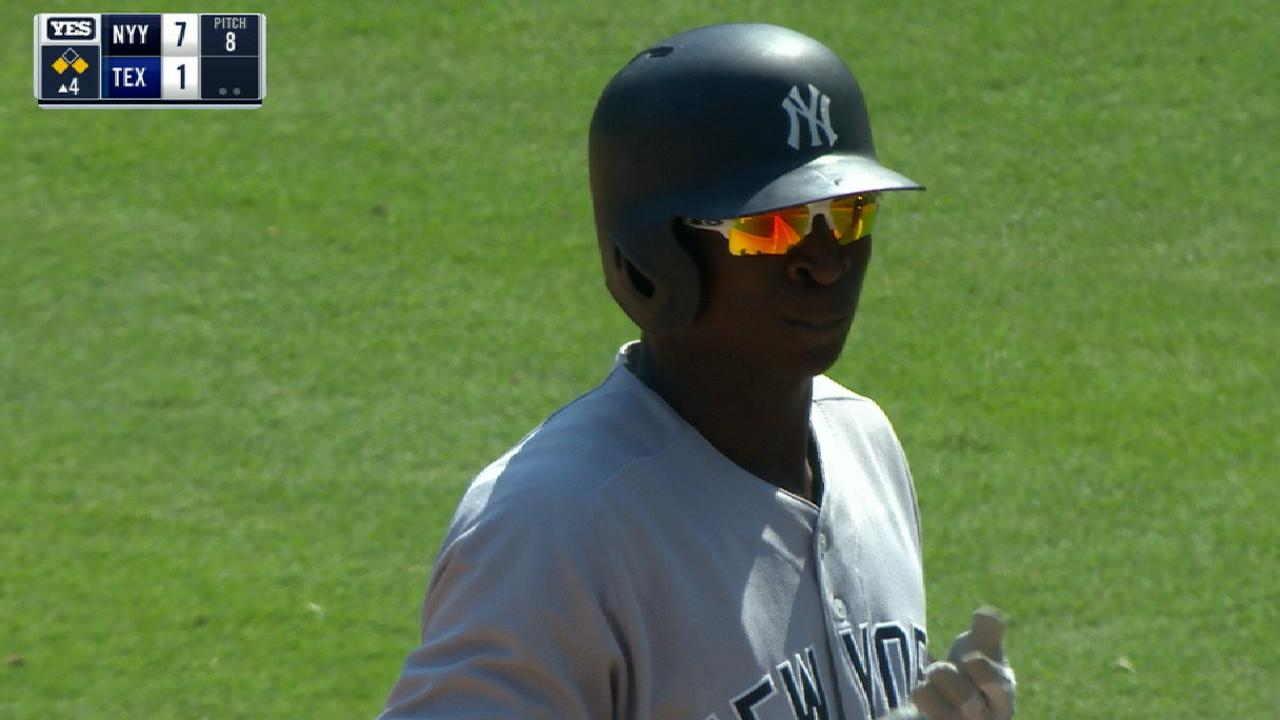 Gregorius' four-hit game