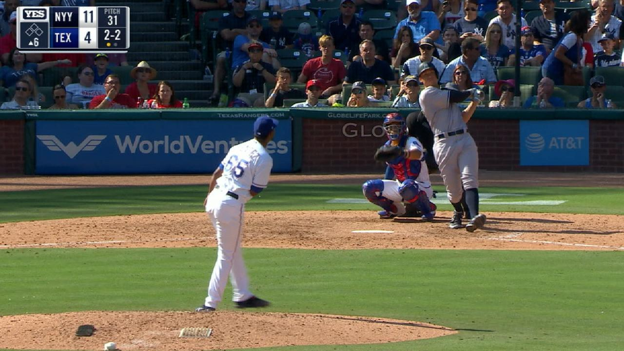 Aaron Judge y Gary Sánchez siguen haciendo historia en los Yankees
