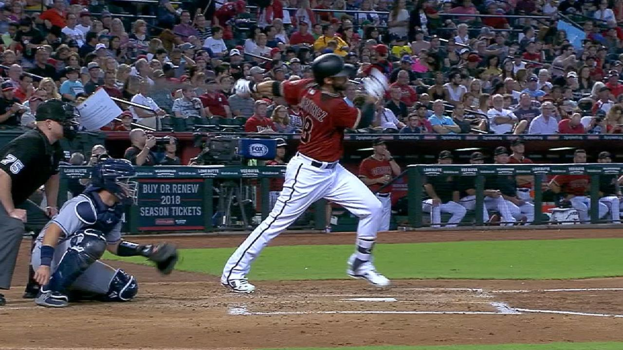 Martinez belts 21 homers
