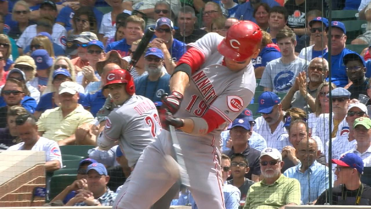 Votto's unusual routine aids remarkable BB/K