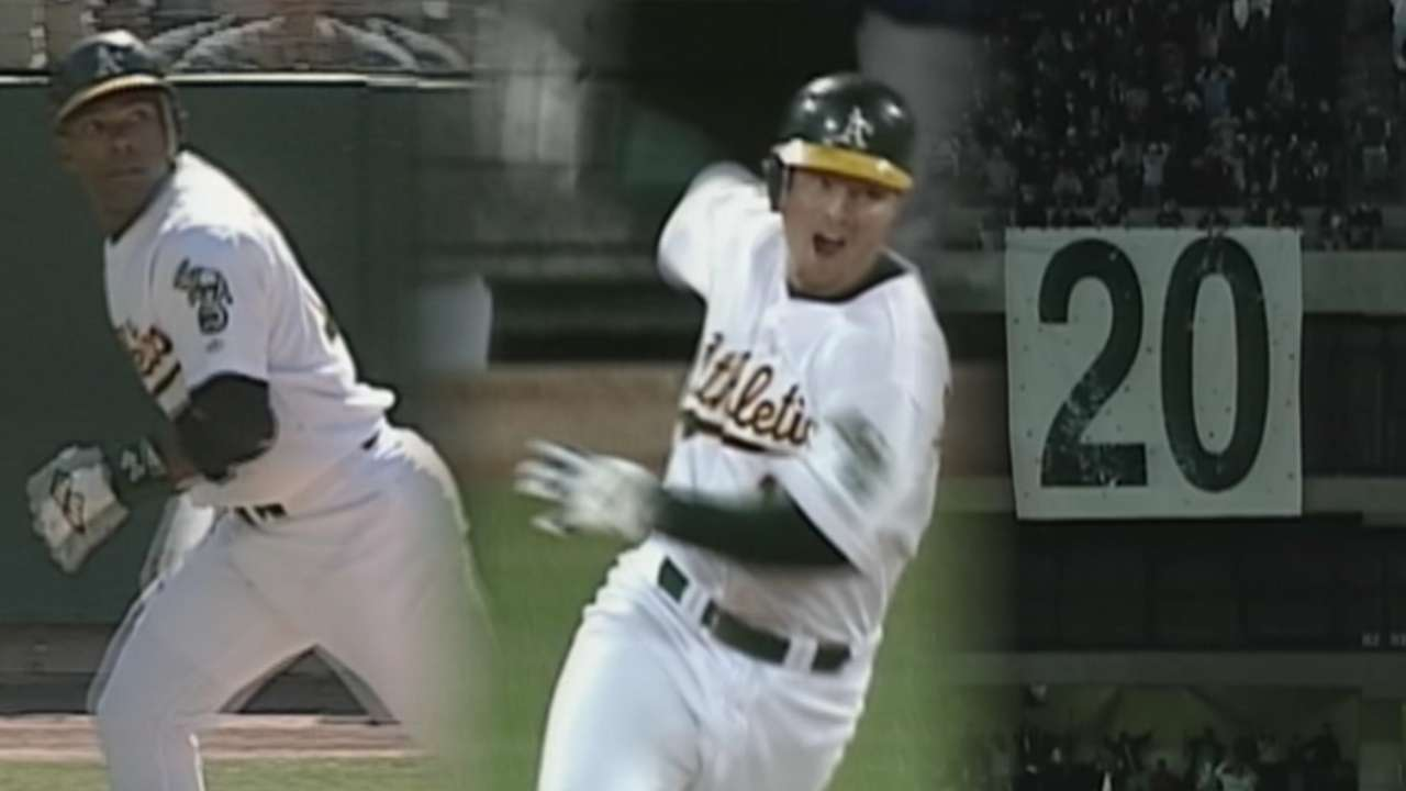2002 A's react to Indians' impressive streak